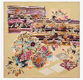 Cacharel Twill Silk Scarf 7444313-961