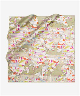 Cacharel Twill Silk Scarf 7710313-951