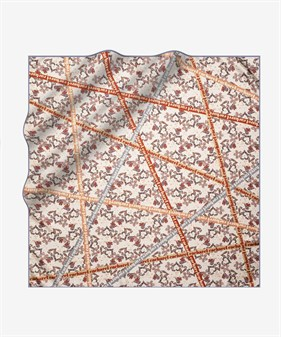 Cacharel Twill Silk Scarf 7933313-931