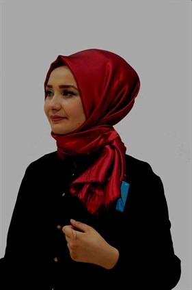 Prenses  Shawl  Claret Red